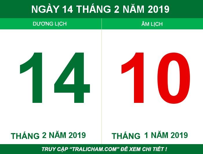 Ngày 14 tháng 2 năm 2019