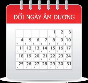 Đổi dương lịch sang âm lịch, đổi âm lịch sang dương lịch, đổi ngày âm dương, đổi lịch âm dương